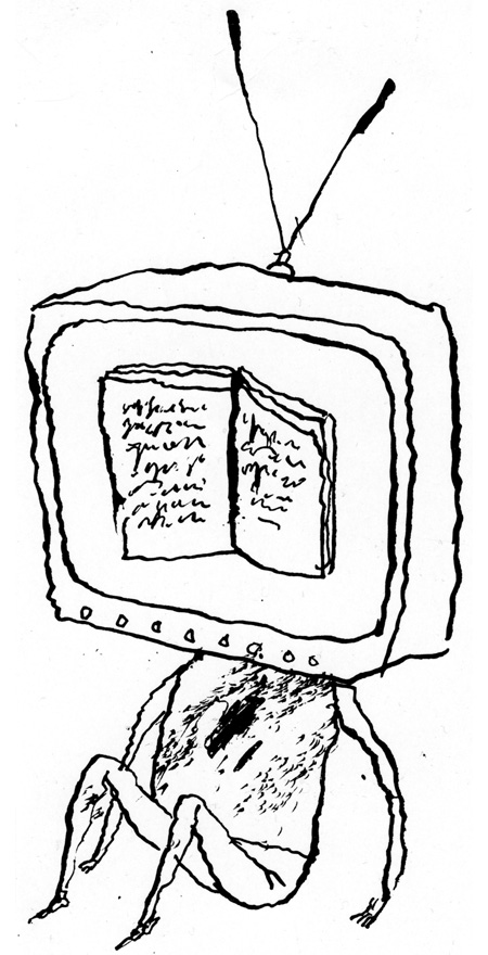 Family Watching tv Together Drawing No-tv Week is Not Aimed Just