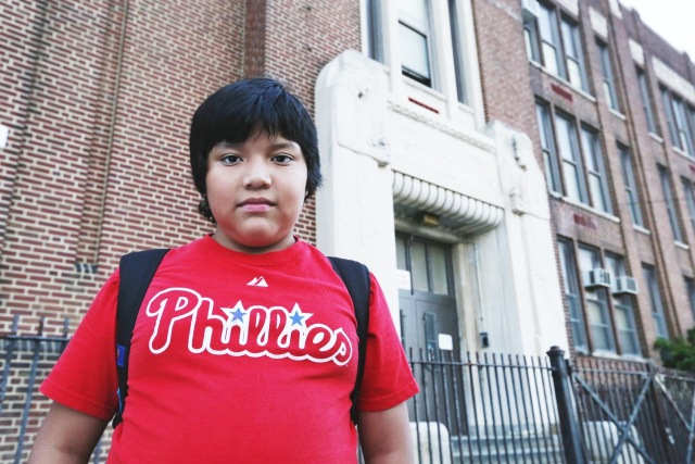Boris-Zhinin-first-day-at-new-school-after-his-old-school-was-closed-Philadelphia-September-2013-1