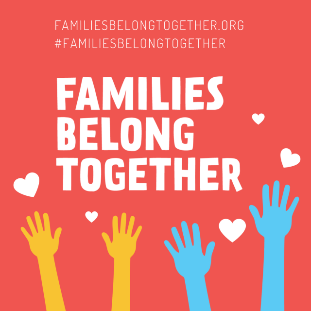 Families Belong Together FB 1