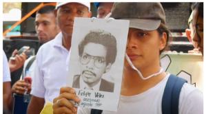March in Medellin Participant